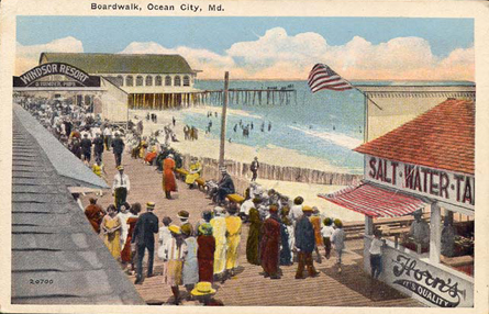 The Pier Ocean City Maryland A History In Pictures